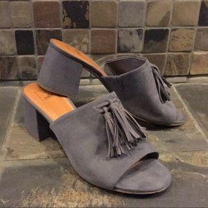 14th & Union Open Toe Mules Size 9